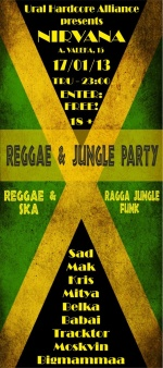 REGGAE & JUNGLE PARTY